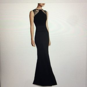 Dress the population Harlow Strappy Gown
